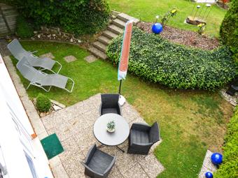 Ferienwohnung mit Terrasse Pension Schüßler